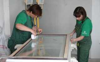 Подготовка окон к покраске: шпаклевка и шлифовка окон