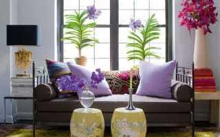 Цветы в современном интерьере