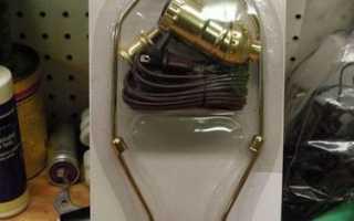 Лампа из кувшина от блендера