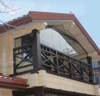 Как сделать балкон деревянного дома