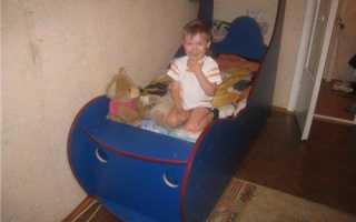 Детская кровать своими руками. руководство по изготовлению кровати-автомобиля