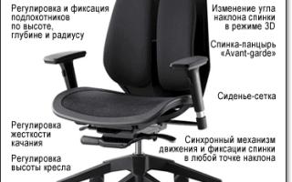 Как опустить кресло для компьютера