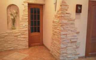 Использование декоративного камня для внутренней отделки
