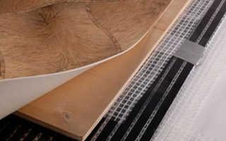 Как правильно положить теплый пол под линолеум