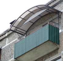 Установка козырька на балконе: инструменты, материалы, монтаж