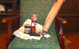 Как переделать старое кресло с деревянными подлокотниками