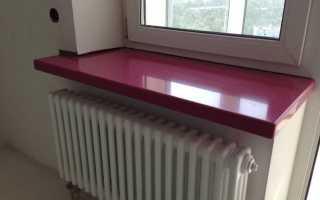 Можно ли покрасить пластиковый подоконник