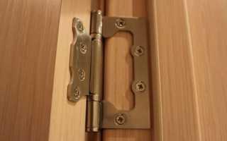 Как поставить петли на дверь шкафа