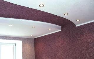 Наносим на потолок жидкие обои: еще одна сторона применения