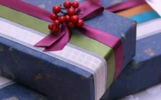 Как правильно обернуть коробку подарочной бумагой