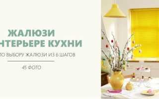 Жалюзи на кухню: фото, виды, выбор