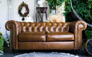 Английский диван честерфилд