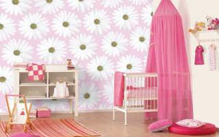 Как выбрать обои для детской комнаты