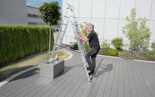 Как выбрать стремянку для квартиры по высоте