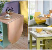 Как сделать откидной столик на кухню
