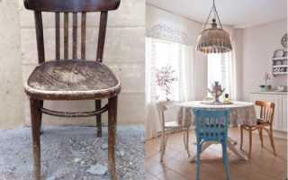 Как отремонтировать стулья в домашних условиях