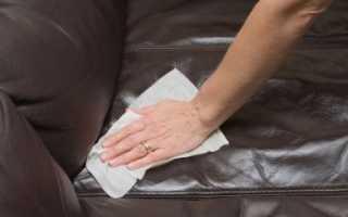 Как чистить кожаный диван в домашних условиях