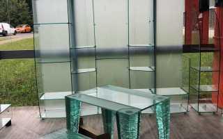 Стекло и стеклянная мебель – настоящая находка!