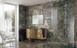 Особенности выбора и монтажа керамогранита для стен