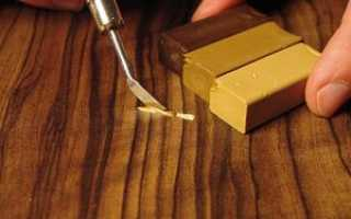 Как пользоваться восковым карандашом для мебели
