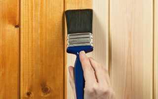 Как покрыть и чем покрасить вагонку в бане и на балконе