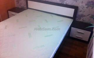 Как собрать двуспальную кровать инструкция