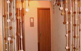 Как сделать висюльки на дверь своими руками