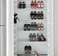 Шкаф для обуви. фото шкафов