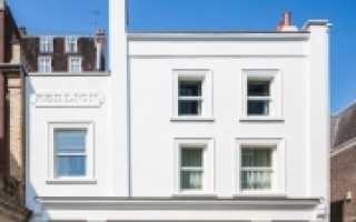 Что такое — русты на фасаде?