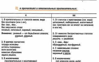 Блистательная одна или две н. Справочник по русскому языку