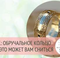 Надеть обручальное кольцо во сне. Значение сна: кольцо