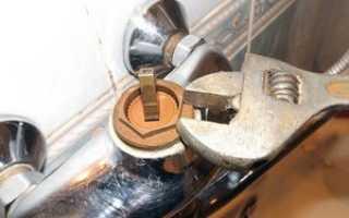 Устройство и ремонт смесителя для ванной
