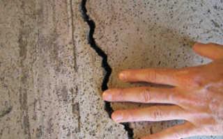 Как выполнить заделку трещин в стенах