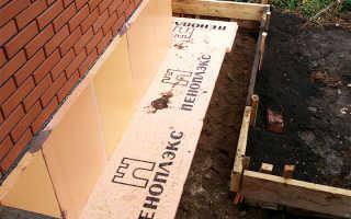 Утепление фундамента дома пеноплексом – правильное крепление пеноплекса к фундаменту