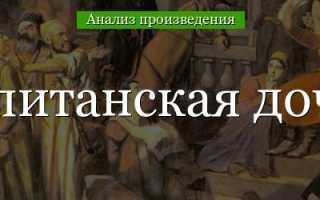 Подробный пересказ капитанская дочка. А.С. Пушкин «Капитанская дочка»: описание, герои, анализ произведения