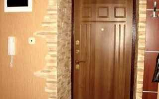 Как обделать дверной проем без двери