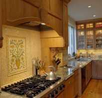 Фартук для классической кухни