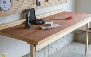Как сделать откидной столик своими руками