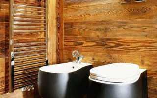 Современные материалы для отделки туалета
