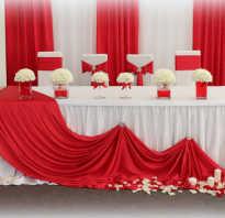 Как красиво оформить свадебный стол
