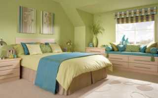 В какой цвет лучше покрасить спальню
