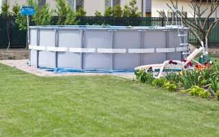 Каркасные бассейны: лучшее решение для вашей дачи
