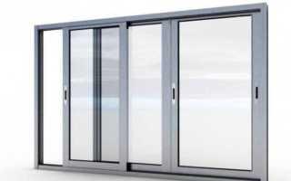 Установка балконных рам из алюминия