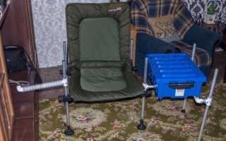 Кресло для фидерной ловли своими руками
