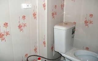 Пластиковые панели — отличный вариант отделки для туалета