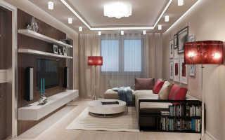 Планировка мебели в комнате 18 кв м
