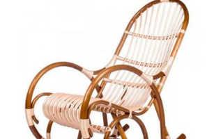 Как сплести кресло качалку своими руками