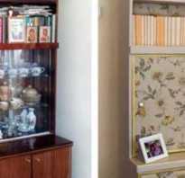 Как покрасить старую мебельную стенку