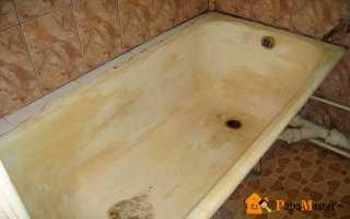 Демонтаж старой ванны и установка новой