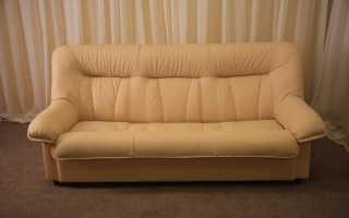 Как правильно обтянуть диван тканью